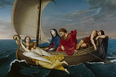 The Virgin and Saint John Travel to Ephesis, 1862