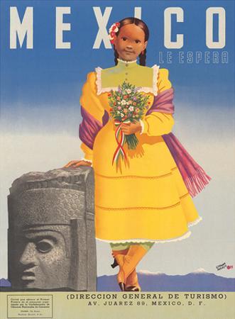 Mexico le Espera, c.1953