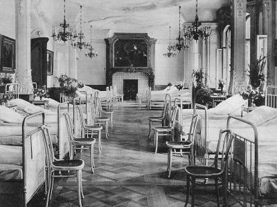 German Hospital Dormitory for Soldiers, Frankfurt Am Main, Germany, World War I, 1915--Giclee Print