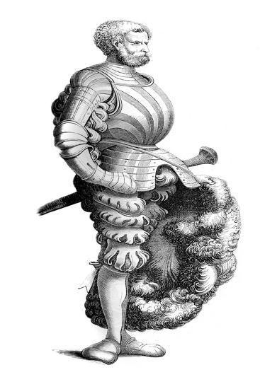 German Knight, 15th Century- Burgmayer-Giclee Print