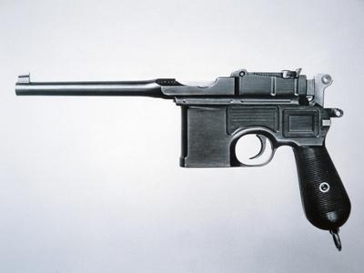 Mauser 7.53 Semi-Automatic Pistol (Metal)
