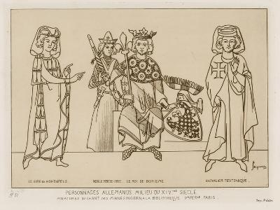 German People in the Mid 14th Century-Raphael Jacquemin-Giclee Print