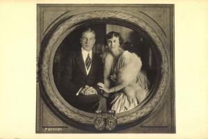 Ak Erbprinz Franz Josef Und Prinzessin Helene Von Thurn Und Taxis by German photographer
