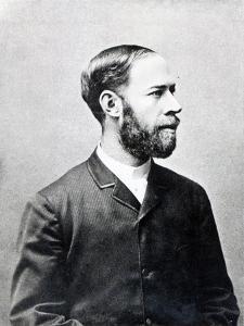Heinrich Rudolph Hertz by German photographer
