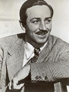 Portrait of Walt Disney, c.1940 by German photographer