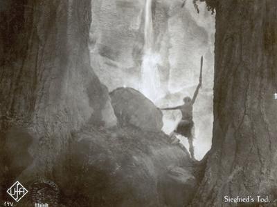 """Still from the Film """"Die Nibelungen: Siegfried"""" with Paul Richter, 1924"""