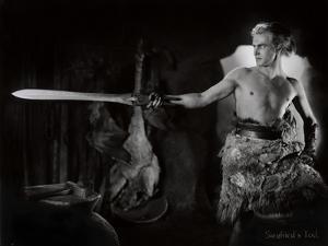 "Still from the Film ""Die Nibelungen: Siegfried"" with Paul Richter, 1924 by German photographer"