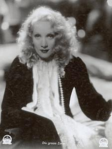 """Still from the Film """"The Scarlet Empress"""" with Marlene Dietrich, 1934 by German photographer"""
