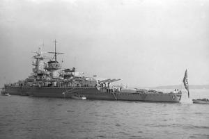 German Pocket Battleship 'Admiral Graf Spee, 1937