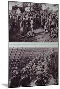 German Prisoners Captured by the Australians, 1914-18