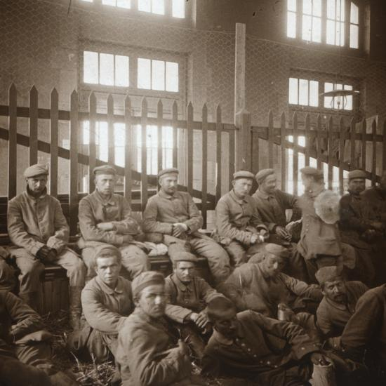 German prisoners of war, c1914-c1918-Unknown-Photographic Print