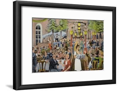 Beer Hall Scene, Germany
