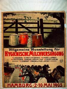 General Exhibition for Sanitary Milk Supply, 1903 by German School