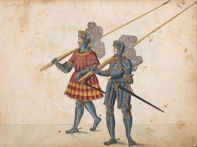 Parade for a tournament, c.1640