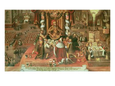 The Delivery of the Augsburg Confession, 25th June 1530, 1617