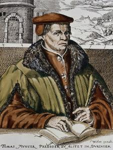 Thomas Muntzer, C.1600 by German School