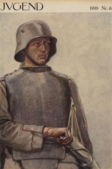 German Soldier, World War I--Giclee Print