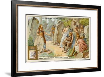German Tribunal--Framed Giclee Print