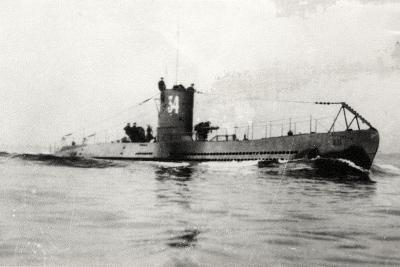 German Type Viia Submarine U-34--Photographic Print