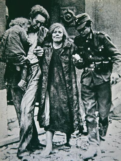 German Victims of the Allied Bombing of Mannheim, 1945--Photographic Print