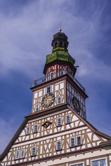 Germany, Baden-Wurttemberg, Metropolregion Stuttgart, Kirchheim Unter Teck, City Hall-Udo Siebig-Photographic Print