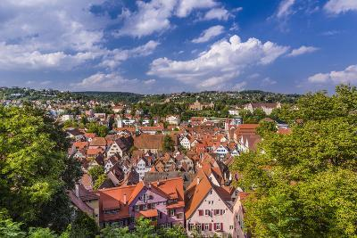 Germany, Baden-Wurttemberg, Neckartal (Neckar Valley), TŸbingen, Village-Udo Siebig-Photographic Print