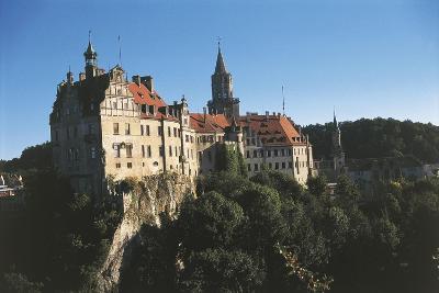 Germany, Baden-Wurttemberg, Sigmaringen, Sigmaringen Castle--Giclee Print