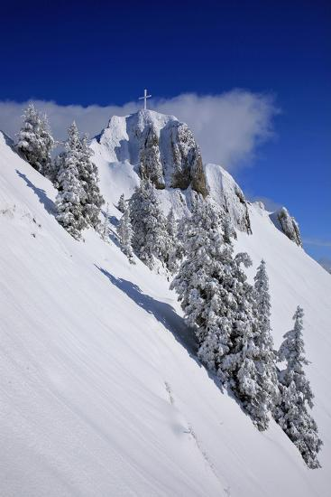 Germany, Bavaria, Highest Spot of the 'Tegelberg' (Mountain) Near FŸssen-Uwe Steffens-Photographic Print