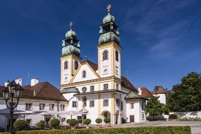 Germany, Bavaria, Lower Bavaria, Donau-Inn, Passau, Abbey and Pilgrimage Church Mariahilf-Udo Siebig-Photographic Print