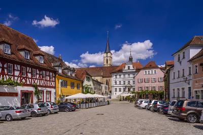 Germany, Bavaria, Lower Franconia, Main-Franconia, Iphofen-Udo Siebig-Photographic Print