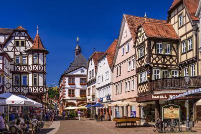 Germany, Bavaria, Lower Franconia, Main-Franconia, Lohr (River) Am Main-Udo Siebig-Photographic Print