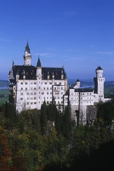 Germany, Bavaria, Neuschwanstein Castle--Giclee Print