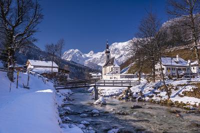 Germany, Bavaria, Upper Bavaria, Berchtesgaden, Ramsau Bei Berchtesgaden-Udo Siebig-Photographic Print