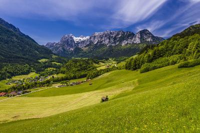 Germany, Bavaria, Upper Bavaria, Berchtesgadener Land, Ramsau Near Berchtesgaden-Udo Siebig-Photographic Print