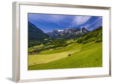 Germany, Bavaria, Upper Bavaria, Berchtesgadener Land, Ramsau Near Berchtesgaden-Udo Siebig-Framed Photographic Print