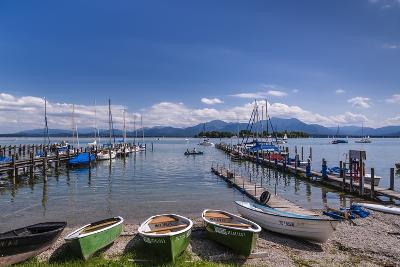 Germany, Bavaria, Upper Bavaria, Chiemgau, Gstadt Am Chiemsee (Lake-Udo Siebig-Photographic Print