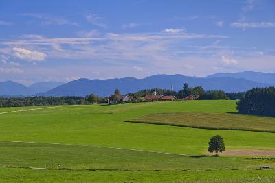 Germany, Bavaria, Upper Bavaria, 'FŸnf Seen Land' (Region), Eurasburg-Udo Siebig-Photographic Print