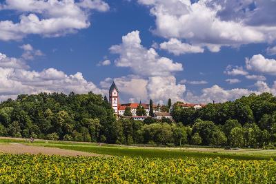 Germany, Bavaria, Upper Bavaria, Hallertau, to Scheyern-Udo Siebig-Photographic Print