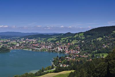 Germany, Bavaria, Upper Bavaria, Mangfall (Mountain Range), Schliersee (Village)-Udo Siebig-Photographic Print