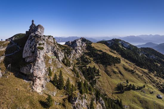 Germany, Bavaria, Upper Bavaria, Mangfall (Mountain Range), Wendelstein Region-Udo Siebig-Photographic Print