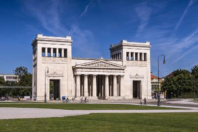Germany, Bavaria, Upper Bavaria, Munich, Maxvorstadt District, King Square, Propylaea-Udo Siebig-Photographic Print