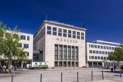 Germany, Bavaria, Upper Bavaria, Munich, Messestadt Riem, Neue Messe Munich, Wappenhalle-Udo Siebig-Photographic Print