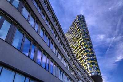 Germany, Bavaria, Upper Bavaria, Munich, Sendling West Park, Adac Headquarters-Udo Siebig-Photographic Print