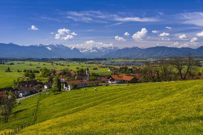 Germany, Bavaria, Upper Bavaria, Pfaffenwinkel, Aidling-Udo Siebig-Photographic Print