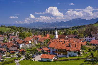 Germany, Bavaria, Upper Bavaria, Pfaffenwinkel, H?rnle Region-Udo Siebig-Photographic Print