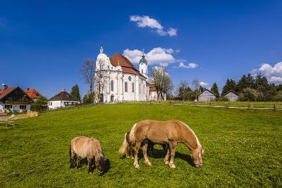 Germany, Bavaria, Upper Bavaria, Pfaffenwinkel, Steingaden-Udo Siebig-Photographic Print