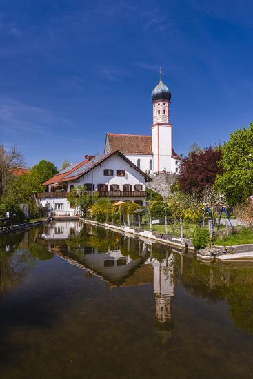 Germany, Bavaria, Upper Bavaria, Pfaffenwinkel, Uffing in the Staffelsee-Udo Siebig-Photographic Print