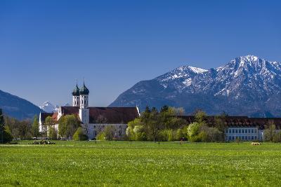 Germany, Bavaria, Upper Bavaria, T?lzer Land (Area), Benediktbeuern-Udo Siebig-Photographic Print