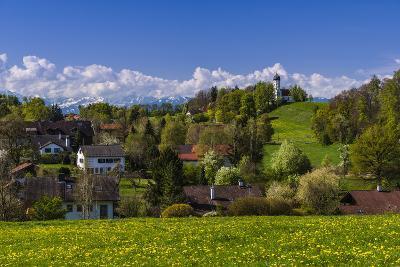 Germany, Bavaria, Upper Bavaria, T?lzer Land (Area), Holzhausen-Udo Siebig-Photographic Print
