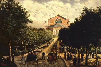 Germany, Bayreuth, Wagnerian Festival--Giclee Print